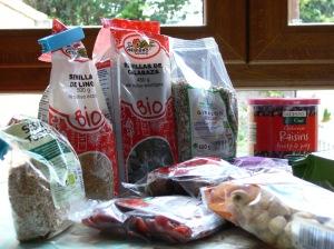 Algunos de los ingredientes, se puede hacer con todos o con menos, es al gusto del consumidor.