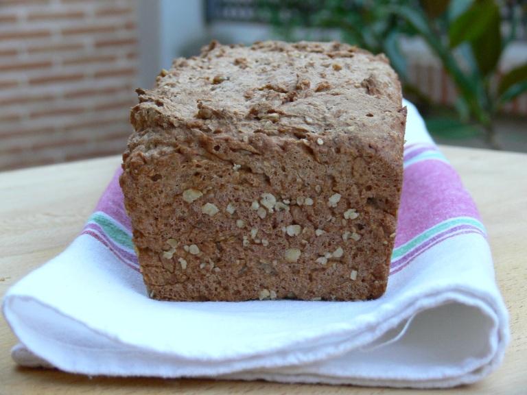 Pan de espelta y trigo sarraceno