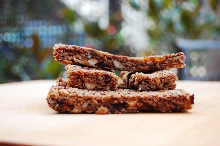 Granola bars - Barritas de cereales - Barritas energéticas - El clan de los sin trigo