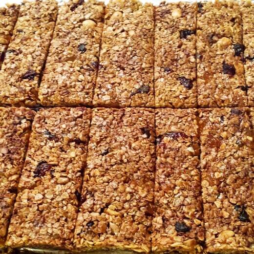 Granola bars - Barritas energéticas - Barritas cereales - El clan de los sin trigo