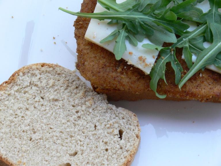 ocadillo con pan de espelta en panificadora - El clan de los sin trigo