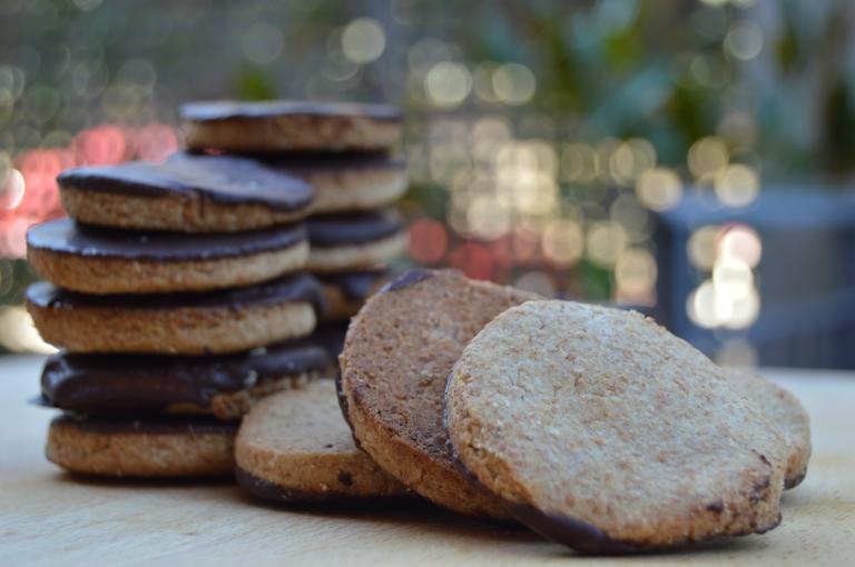 Galletas digestivas con espelta - El clan de los sin trigo