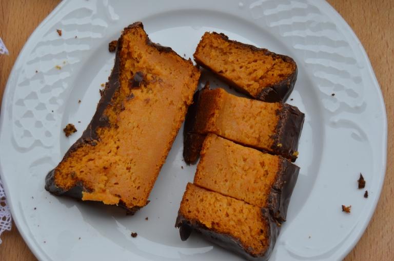 Bizcocho o flan de zanahorias del mundo viejuno