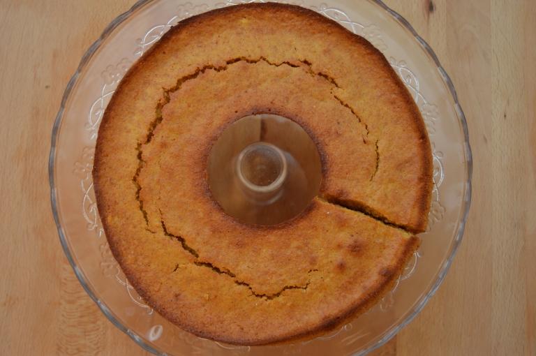 Bizcocho de naranja con espelta y sirope de ágave - El clan de los sin trigo