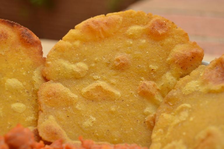 Tortos de maíz