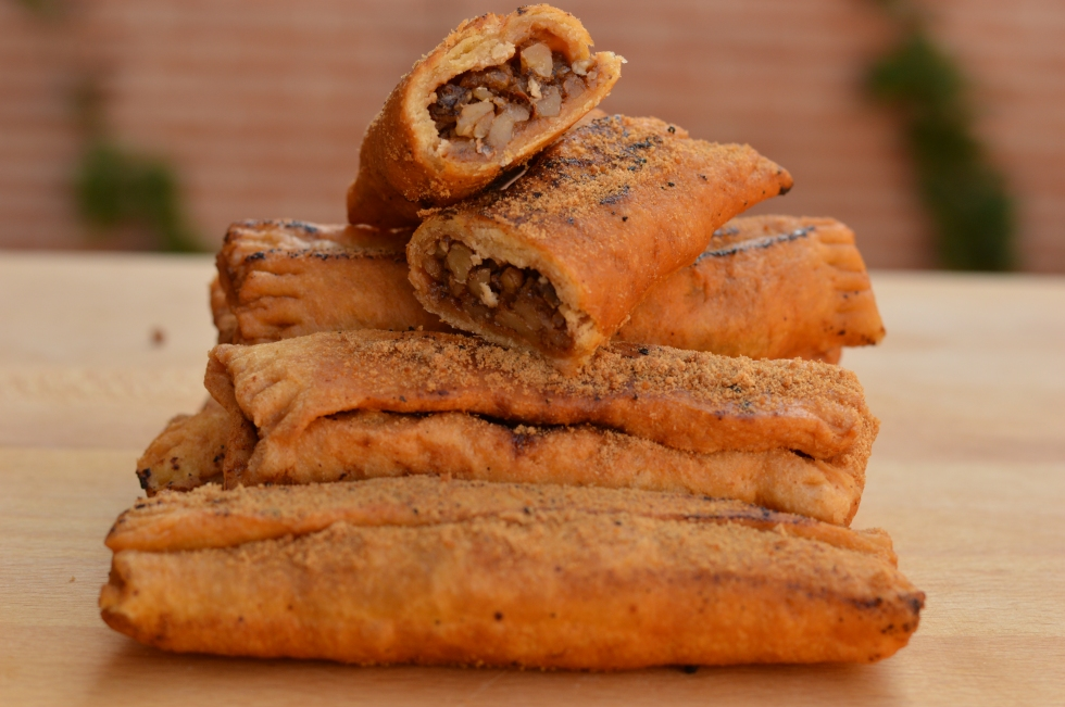 Casadielles con espelta y panela - El clan de los sin trigo