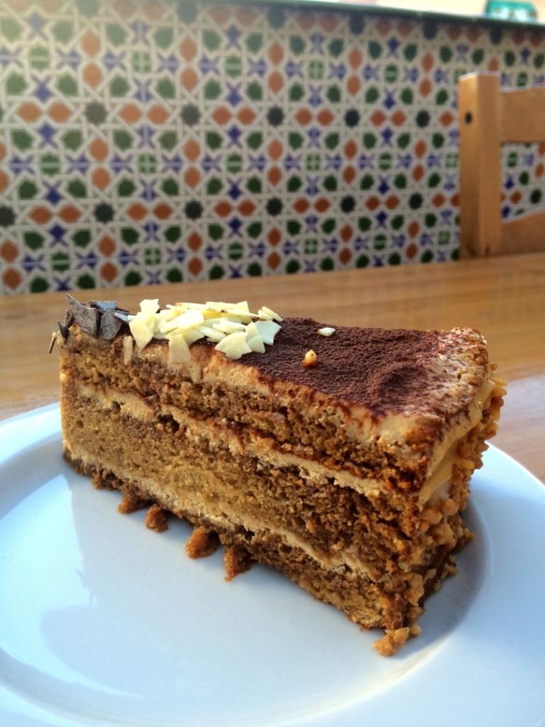 Trozo de tarta de mascarpone - El clan de los sin trigo