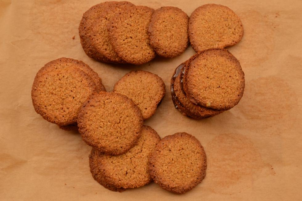 Galletas de avena estilo Ikea - El clan de los sin trigo