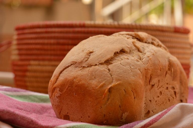 Pan de espelta y centeno en panifocadora - El clan de los sin trigo