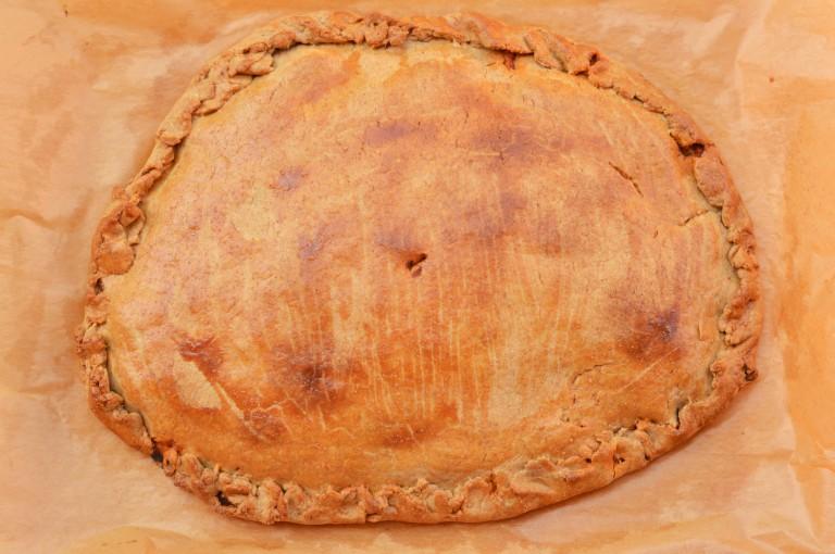 Empanada de bonito con espelta - El clan de los sin trigo
